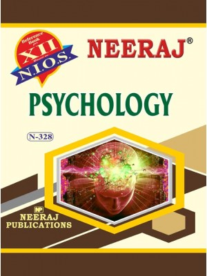 NIOS - 328 Psychology  - Guide Book For Class 12th - English Medium