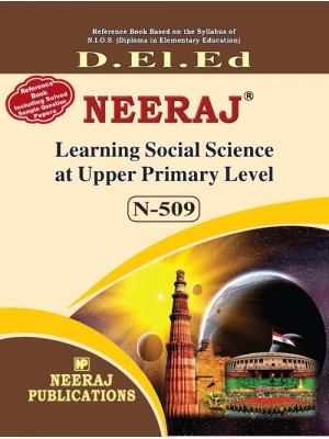 NIOS DELED- 509 Learning Social Science at Upper Primary Level in English medium