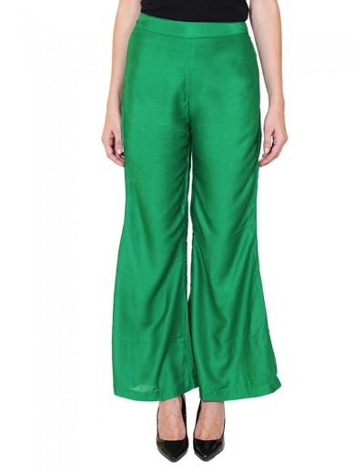 Magnogal Women Green Palazzo PL-78 G
