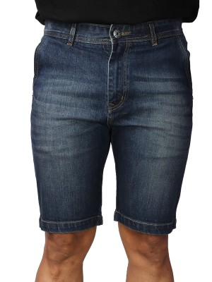 ReFocus  Blue Denim Shorts for Men