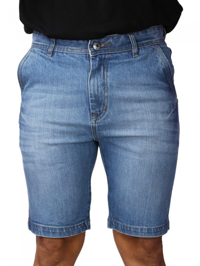 ReFocus  Ice-Blue Denim Shorts for Men