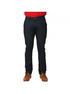 ReFocus Black Linen Pant for Men