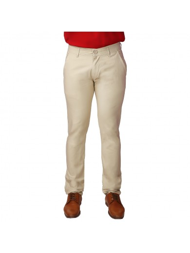 ReFocus Beige Linen Pant for Men
