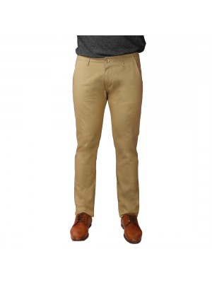 ReFocus Khaki Cotton Pant for Men