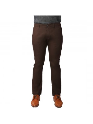ReFocus Coffee Woven Cotton Pant for Men