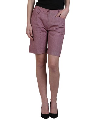 Magnogal Women Magnetic Maroon Short SH-17 A