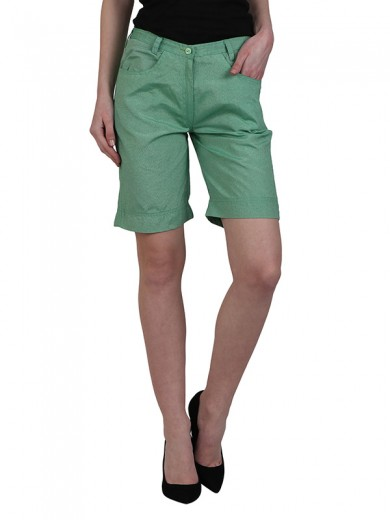 Magnogal Women Awesome Green short SH-17 B