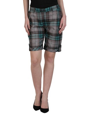 Magnogal Women Checkered short SH-17 F