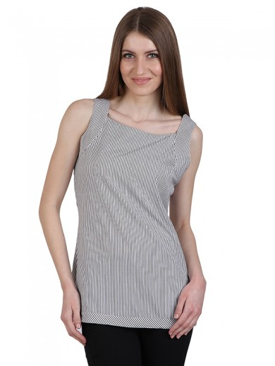 Magnogal Casual  sleeves Solid GREY Top- 40 F