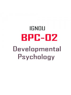 BPC 2 Developmental Psychology( IGNOU Guide Book For BPC2 ) English Medium