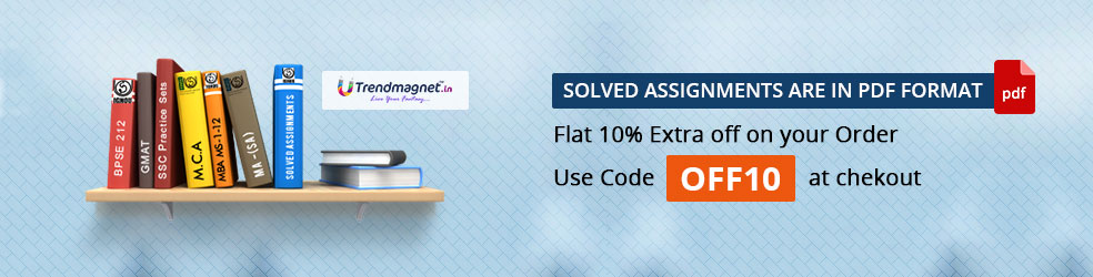IGNOU CTE Solved Assignments