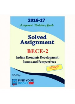 BECE-2 in English IGNOU Solved Assignment 2017