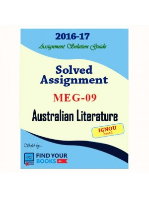 MEG-9 IGNOU Solved Assignment-2017