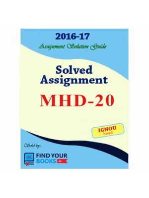 MHD-20 IGNOU Solved Assignment-2017