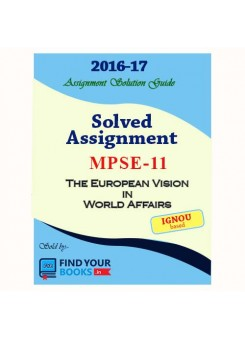 MPSE-11 IGNOU Solved Assignment-2017 in English Medium