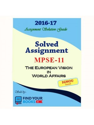 MPSE-11 IGNOU Solved Assignment-2017 in Hindi Medium