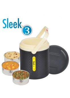 Jaypee Sleek 3 Containers Lunch Box