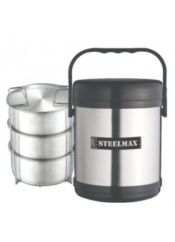 Jaypee Steelmax 3 Containers Lunch Box