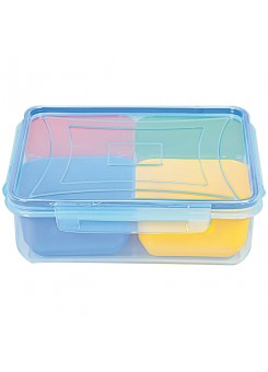 Jaypee Marigold Plastic Multi-purpose Storage Container  (Pack of 4, Multi color)