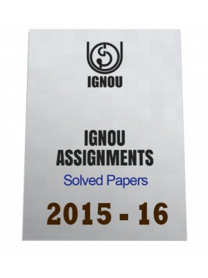 MPA-13-Hindi IGNOU Solved Assignment 2015-16
