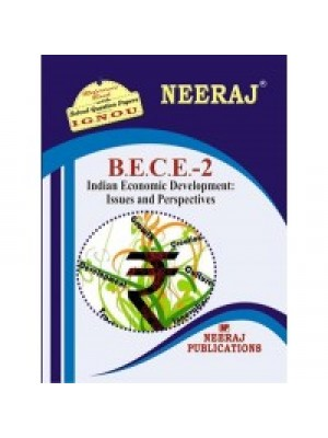 BECE2 Indian Economic Development - IGNOU Guide Book For BECE2 - English Medium