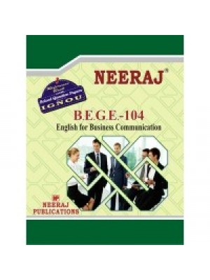NEERAJ : BEGE-104 IGNOU Guide
