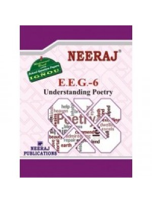 EEG-6/BEGE-106 Understanding Poetry - IGNOU  Guide Book For EEG6/BEGE106
