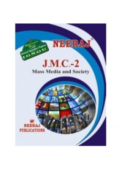 IGNOU : JMC - 2 Mass Media & Society (english)