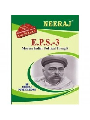 EPS-3 Modern Indian Political Thought - IGNOU Guide Book For EPS3 - English Medium
