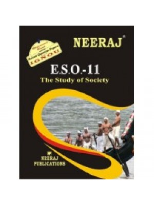 ESO-11 The Study Of Society - IGNOU Guide Book For ESO11 - English Medium