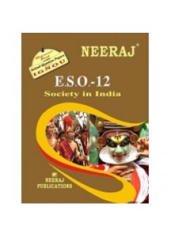 IGNOU : ESO - 12 Societies In India (ENGLISH)
