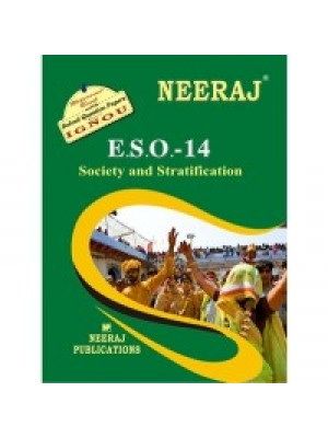 ESO-14 Society & Stratification - IGNOU Guide Book For ESO14 - English Medium