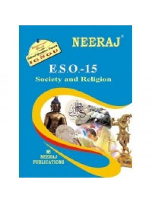ESO-15 Society & Religion -IGNOU Guide Book For ESO15 - English Medium