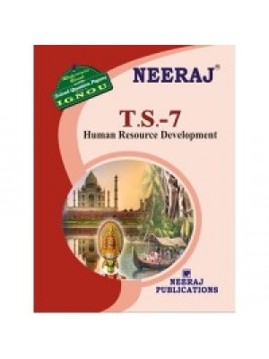 IGNOU : TS - 7 Human Resource Development  In Tourism  (ENGLISH)