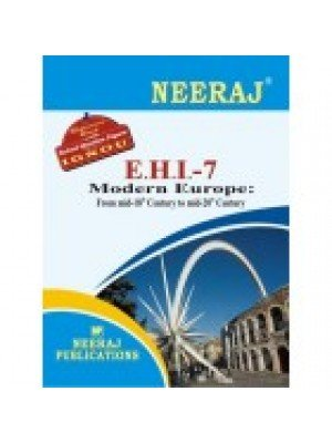 IGNOU : EHI- 7 Modern Europe: Mid-18th To Mid-20th Century (ENGLISH)