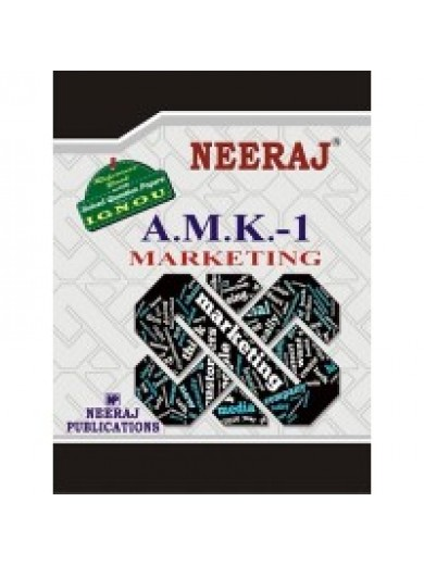 IGNOU : AMK- 1 Marketing in ENGLISH