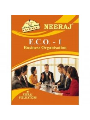 ECO-1 Business Organisation -  IGNOU Guide Book For ECO1 - English Medium