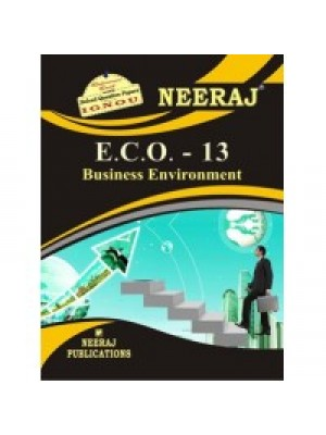 ECO-13 Business Environment  - IGNOU Guide Book For ECO13 - English Medium