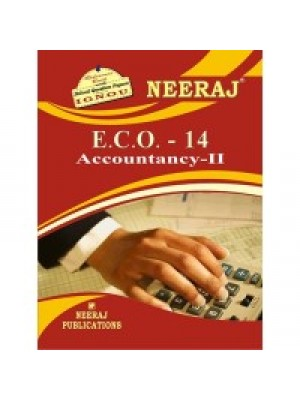 IGNOU: E.C.O.-14 Accountancy - II (ENGLISH)