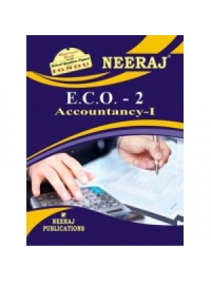 ECO-2 Accountancy -I  - IGNOU Guide Book For ECO2 - English Medium