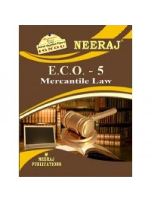 IGNOU: E.C.O.-5 Mercantile Law (ENGLISH)