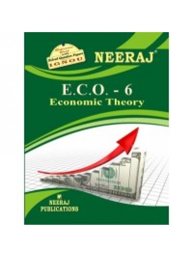 ECO-6 Economic Theory -  IGNOU Guide Book For ECO6 - English Medium
