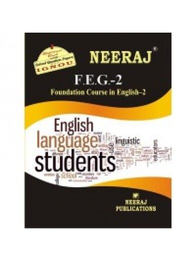 FEG-2 Foundation Course In English-2 - IGNOU Guide Book For FEG2