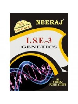 LSE - 3 Genetics - IGNOU Guide Book For LSE3 - English Medium