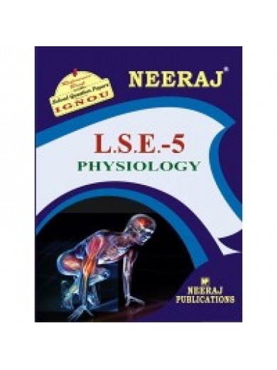 LSE-5 Physiology - IGNOU Guide Book For LSE5 - English Medium