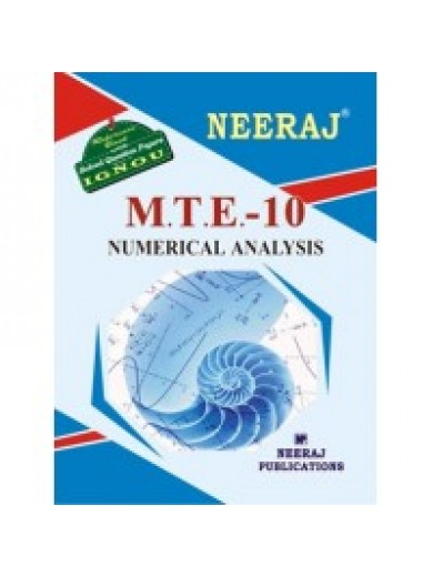 IGNOU : MTE - 10 Numerical Analysis
