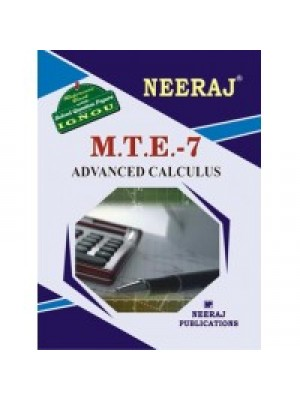 IGNOU : MTE - 7 Advanced Calculus