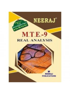 IGNOU : MTE - 9 Real Analysis