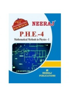IGNOU : PHE - 4 Mathematical Methods In Physica-I