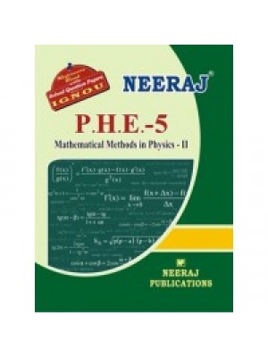 IGNOU : PHE- 5 Mathematical Methods In Physica-II